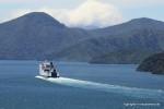 Die Fähre von Wellington nach Picton