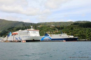 Bluebridge und Interislander in Picton