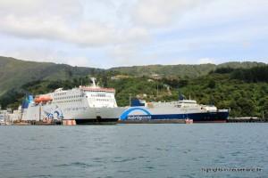 Bluebridge und Interislander in Picton