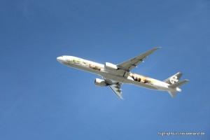 Flugzeug Air New Zealand