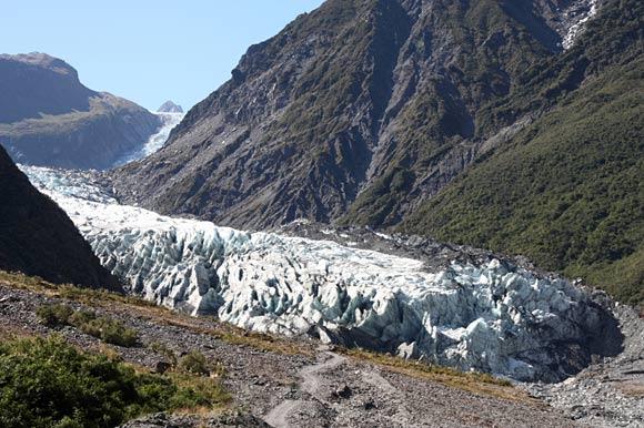 Gletscherzunge des Fox Glacier