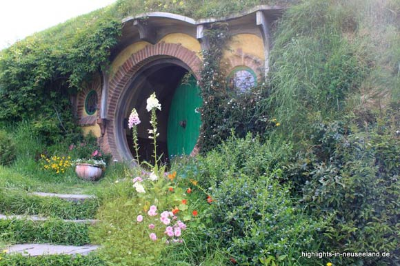 die grüne Tür von Bilbo Beutlin