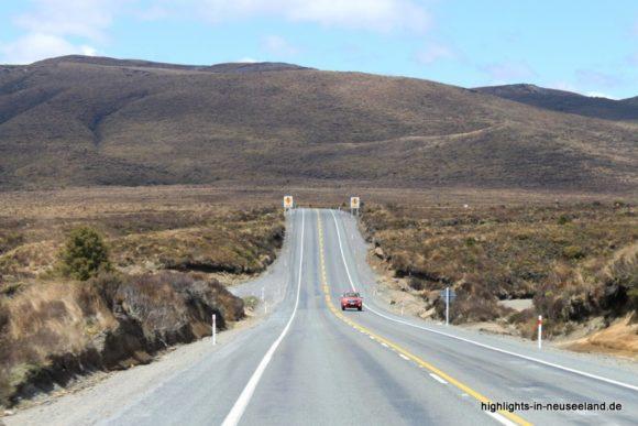 Desert Road auf der Nordinsel