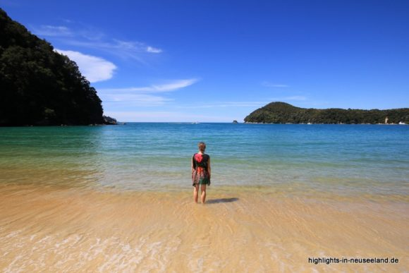 Im Abel Tasman Nationalpark